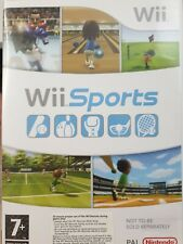 Wii Sports   Nintendo Wii - Boxed Version. (CD Case)