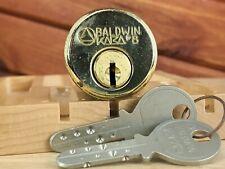 Baldwin Kaba 8 Hogh Security Lock 2 Keys Locksport Dimple