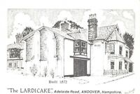Art Sketch Postcard The LARDICAKE Adelaide Rd Andover Hampshire Don Vincent AS1