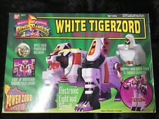 Bandai Power Rangers: White Tigerzord Action Figure