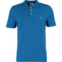 ORIGINAL PENGUIN Men's Royal Blue Heritage Slim Fit Polo Shirt, size Small