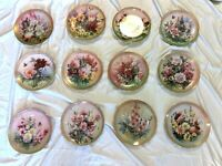 """Symphony Of Shimmering Beauty Series by Lena Liu """"Collector plate"""" Complete set"""