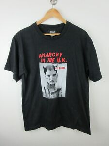 Sex Pistols Anarchy In The UK Mens T Shirt Size L Crew Neck Vintage 2003 Rare