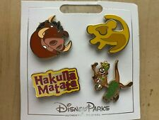 Disney Pins -The Lion King - Icons 4 Pin Set