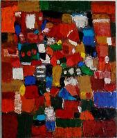 ALEXANDRE PONS/Abstrait contemporain pièce unique format 50x60 cm