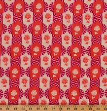 Cotton Anna Maria Horner Dresden Bulbs Floral Cotton Fabric Print BTY  D302.21