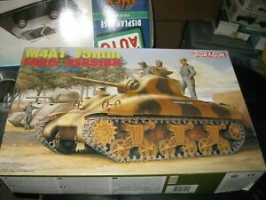 MIB M4 A1 75mm Early Version Sherman by Dragon in 1/35 scale from 1996