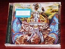 Sepultura: Machine Messiah CD 2017 Nuclear Blast Records USA NB 3640-2 NEW
