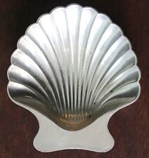 ANTIQUE TIFFANY AND CO STERLING SHELL OYSTER DISH PERFECT