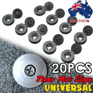 AU X10 Car Floor Mat Liner Carpet Clips Fixing Grips Clamp Holder Sleeves Auto
