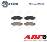 ABE FRONT BRAKE PADS SET BRAKING PAD C11089ABE I NEW OE REPLACEMENT