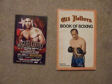 promotional postcard sized card miguel cotto v muhammad abdullaev 11/6/05
