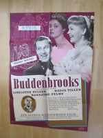 Filmplakat - Buddenbrooks 2. Teil ( Liselotte Pulver , Hansjörg Felmy )