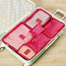 Travel Cosmetic Makeup Bag Toiletry Case Wash Organizer Storage Hanging Rose Red