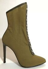 Giuseppe Zanotti Women Shoes Size 37.5 NIB Green Bootie Bimba