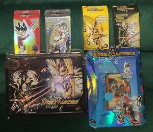 Kakujo, Shobu, DM-04 Darkness & Light Decks + TIN Collector DUEL MASTERS ALL NEW