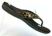 Dr. Scholl's Leopard Print Thong Flip-flop Slide Sandals Women's US 10 / EUR 42