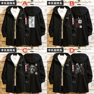 Bungou Stray Dogs Cosplay Unisex Hoodie Jacket Sweatshirt Fashion Greatcoat