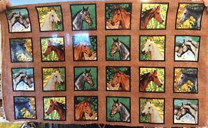 Endless Summer Small Horse Head blocks #CP47776