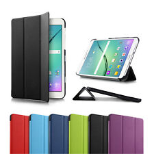 Premium Flip Smart Cover Case Stand for Samsung Galaxy Tab S2 8.0 9.7 Tablet