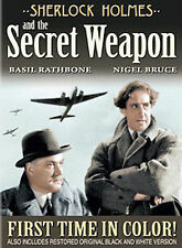 Sherlock Holmes and the Secret Weapon (C DVD