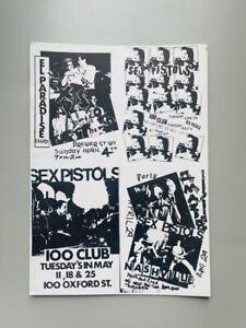 Sex Pistols / Press Kit (1977) / Edition Originale / Glitterbest / Sid Vicious