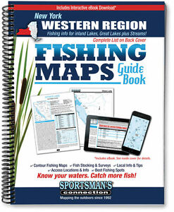 Western New York Fishing Map Guide   Sportsman's Connection
