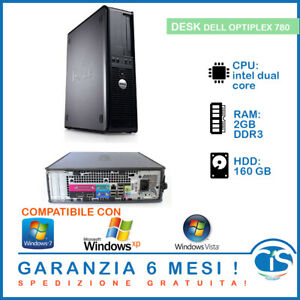 PC COMPUTER DELL WINDOWS XP VISTA SEVEN x32 bit PORTA COM SERIALE PARALLELA