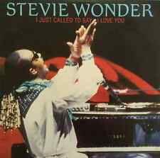"""STEVIE WONDER -  I Just Called To Say I Love You (12"""") (EX/EX)"""