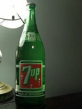 '50s (7up) Seven-Up_1 Pint, 12 oz._Duraglas_Madison, Ill._Glass Bottle Ltd *NOS*