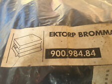 NEW IKEA EKTORP BROMMA Footstool Ottoman Cover Slipcover 900.984.84 blue