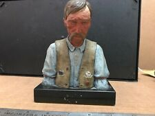 Harry Jackson Old Timer Bronze Polychrome Sculpture Western