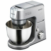 Geek Chef GM25S 2.6 Quart 7 Speed Tilt Head Stand Mixer with Attachments, Silver