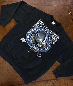 Vintage Dallas Cowboys Super Bowl Crewneck Sweatshirt Size XL 1995 Made In USA