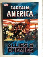 CAPTAIN AMERICA Allies & Enemies (2011) Marvel Comics TPB 1st VG/VG+