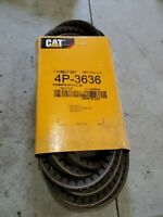 "CAT Caterpillar 4P-3636 V Belt 1/2"" By 71.5 13mm X 1816mm"