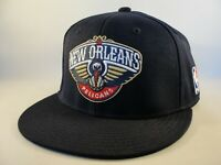 New Orleans Pelicans NBA Adidas Navy Fitted Hat Cap