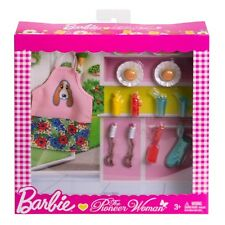 Barbie Pioneer Woman Ree Drummond BBQ Cooking Accessory Set 10 + Pieces NEW