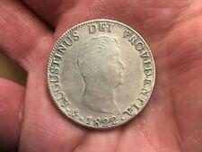 MEXICO 1822 8 REALES ITURBIDE SILVER COIN