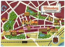 AK Lutherstadt Wittenberg / Stadtplan