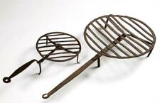 Wrought Iron Hearth Rotating Broilers, Lot Of Two Lot 1456