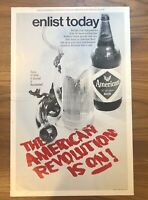 Vintage Baltimore Maryland American Brewery Beer Poster Ad