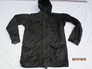 Jacket Black Field,schwarze Ripstop Jacke,MOD Police,Guard Service,Gr. 190/96
