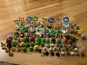 Angry Birds Huge Lot 90+ Pieces Star Wars Figures Launchers Cars Blocks