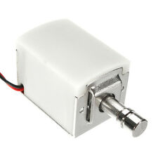 12V DC 1,5A Mini Electric Bolt Lock Cylindrical Sauna Cabinet Drawer Solenoid Lo