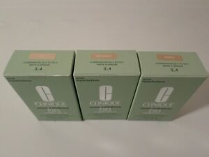 CLINIQUE ACNE IMPERFECTIONS SOLUTIONS BB CREAM SPF 40 SKIN TYPE 3 , 4 YOU CHOOSE