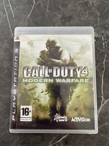 Call of Duty 4: Modern Warfare - PlayStation 3 (PS3) - PAL - Complete - Free P&P