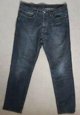 "Mens levi 541 grey denim jeans size 34 waist 34"" leg"