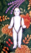 """3"""" Antique German Bisque Antique Doll - Fully Wire Jointed"""