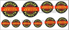 1:43 O SCALE GARAGE AUTO SERVICE SIGN GAS STATION LAYOUT TRUCK DIORAMA DECALS
